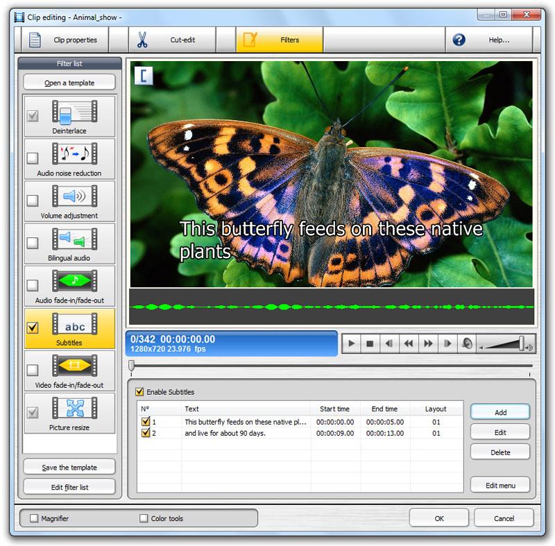البرنامج رقم واحد في تحويلات ملفات الميديا ينزل بأصدار جديد TMPGEnc XPress v4.7.7.30  Feature_subtitles