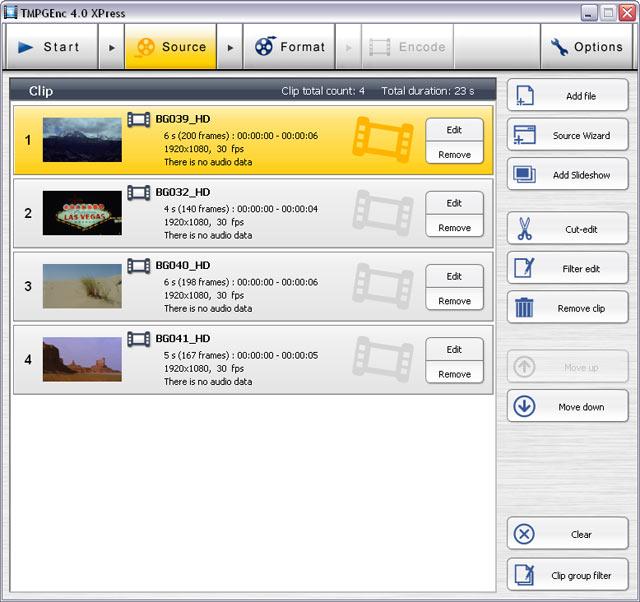 البرنامج رقم واحد في تحويلات ملفات الميديا ينزل بأصدار جديد TMPGEnc XPress v4.7.7.30  Screenshot02