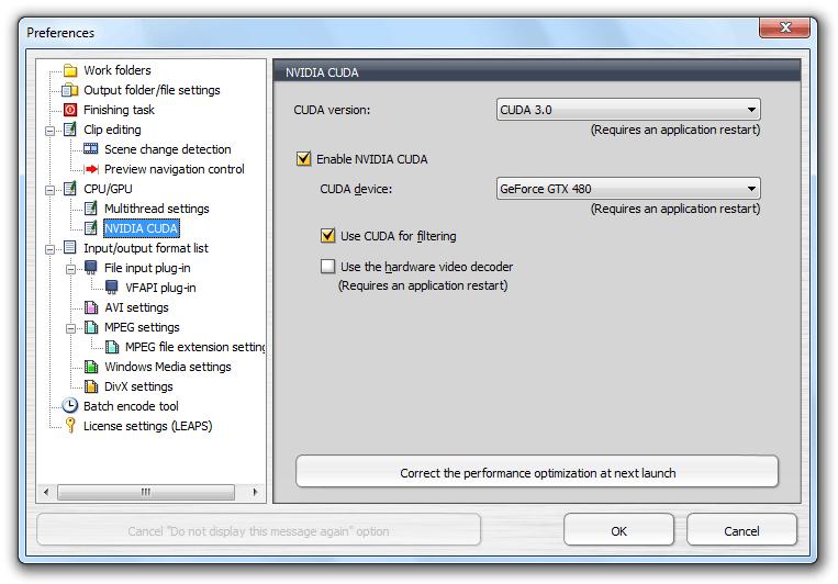 البرنامج رقم واحد في تحويلات ملفات الميديا ينزل بأصدار جديد TMPGEnc XPress v4.7.7.30  Te4xp_prefs_cuda