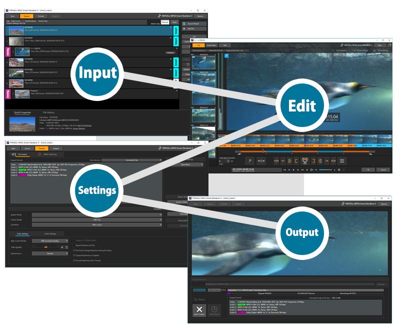 TMPGEnc MPEG Smart Renderer 5 - The De Facto Standard in Video