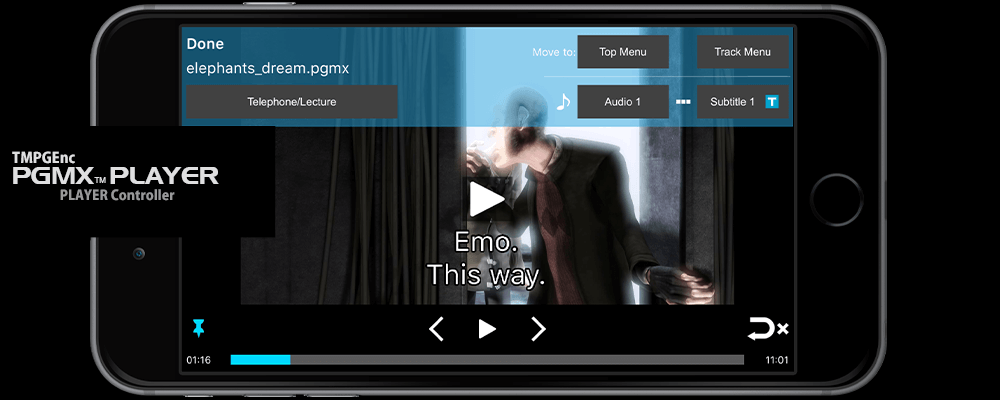 TMPGEnc PGMX™ PLAYER for Android and iOS - Free PGMX video