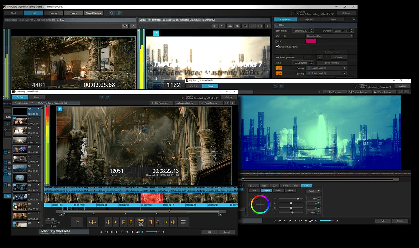 TMPGEnc Video Mastering Works screenshot