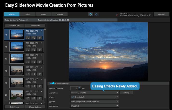 Video Conversion / Encoding - TMPGEnc Video Mastering Works 7
